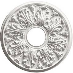 Small Decorative Ceiling Medallion - 16-Inches Wide