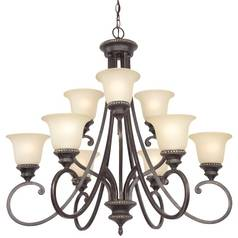 Dolan Designs 2-Tier 9-Light Chandelier in Phoenix