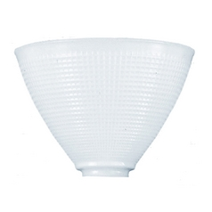 IES Glass Replacement Shade - 2-1/4-Inch Fitter Opening