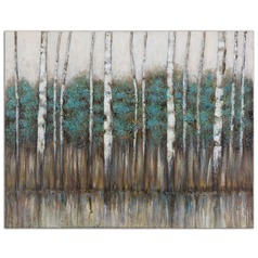 Uttermost Edge of The Forest Canvas Art
