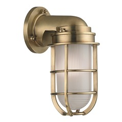 Hudson Valley Lighting Carson Aged Brass Sconce