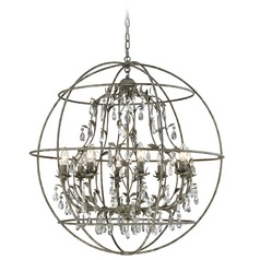Elk Lighting Bridget Marble Gray Chandelier