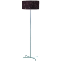 Contemporary / Modern Floor Lamp Silver Hemsk by Lite Source Lighting