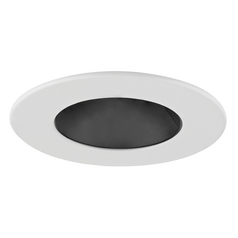 GU10 Black Reflector Trim for 3.5-Inch Recessed Cans