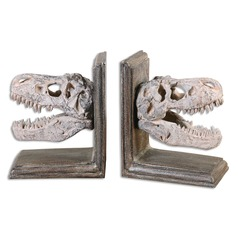 Uttermost Dinosaur Bookends, Set of 2