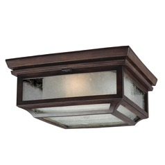 Feiss Lighting Shepherd Heritage Copper Close To Ceiling Light