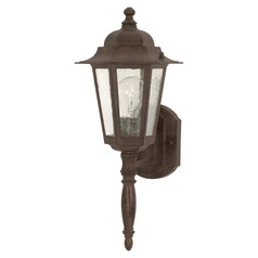 Nuvo Lighting Central Park Old Bronze Outdoor Wall Light