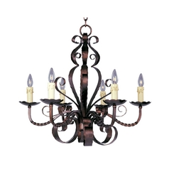 Maxim Lighting Chandelier in Oil Rubbed Bronze Finish 20612OI