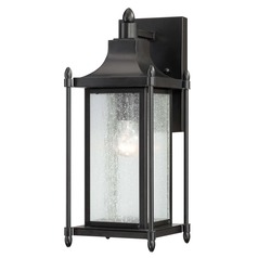 Savoy House Black Outdoor Wall Light