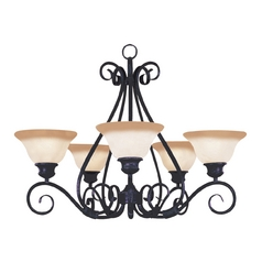 Maxim Lighting Pacific Kentucky Bronze Chandelier