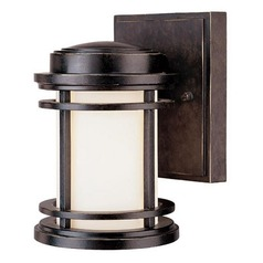 Dolan Designs 7-1/4-Inch Outdoor Wall Light with 8-Watt LED Bulb 9101-68  8W LED