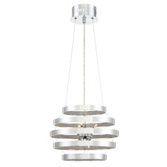 Quoizel Lighting Platinum Collection Arena Polished Chrome Pendant Light
