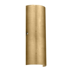 Sconce Wall Light Gold Glass Satin Nickel by Besa Lighting