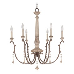 Capital Lighting Chateau French Oak Chandelier