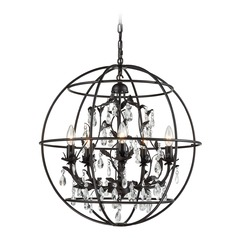 Elk Lighting Bridget Oil Rubbed Bronze Chandelier