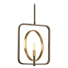 Swing Antique Bronze / Natural Brass Pendant Light by Progress Lighting
