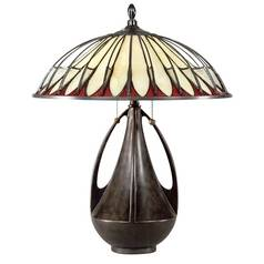Quoizel Lighting Tiffany Table Lamp TF6855BC