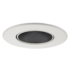 Adjustable Black Reflector Trim for 3.5-Inch Recessed Cans