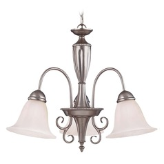 Savoy House Pewter Chandelier