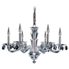 Fanshawe 6 Light Crystal Chandelier