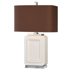 Uttermost Dantzler Gloss White Lamp