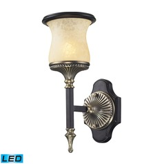Elk Lighting Georgian Court Antique Bronze, Dark Umber LED Sconce