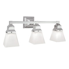 Norwell Lighting Birmingham Chrome Bathroom Light