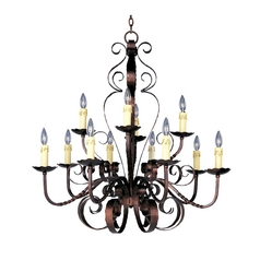 Maxim Lighting Chandelier in Oil Rubbed Bronze Finish 20620OI