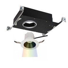 WAC Lighting Aether Color Changing Black White LED Recessed Kit