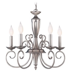 Savoy House Pewter Mini-Chandelier