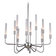 Polished Nickel LED Chandelier 3000K 13000LM