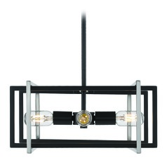 Golden Lighting Tribeca Black Pendant Light