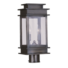 Livex Lighting Princeton Vintage Pewter Post Light