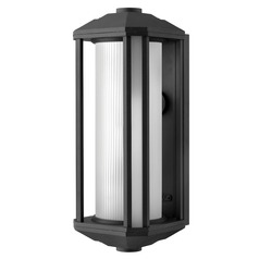 Hinkley Lighting Castelle Black LED Outdoor Wall Light