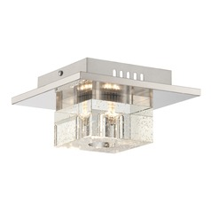 Lite Source Galena Chrome LED Flushmount Light