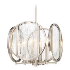 Minka Lavery Via Capri Brushed Nickel Pendant Light