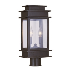 Livex Lighting Princeton Bronze Post Light