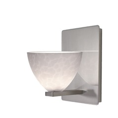 WAC Lighting Faberge Brushed Nickel Sconce