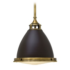 Farmhouse Mini-Pendant Light Bronze Amelia by Hinkley Lighting