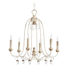 Quorum Lighting Venice Persian White Chandelier