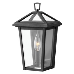 Hinkley Lighting Alford Place Museum Black Outdoor Wall Light