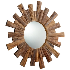 Wheelhouse Reflection Round 36-Inch Mirror