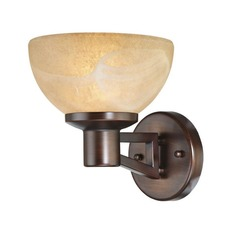 Single-Light Sconce with LED Bulb