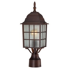 Nuvo Lighting Adams Rustic Bronze Post Light