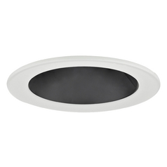 Black Open Reflector PAR20 Trim for 4-Inch Recessed Cans