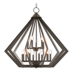 Livex Lighting Prism Bronze Pendant Light