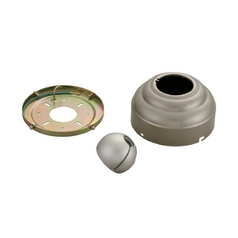 Ceiling Adaptor in Brushed Pewter Finish