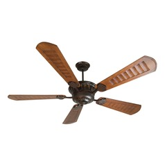 Craftmade Lighting Dc Epic Oiled Bronze Ceiling Fan with Light