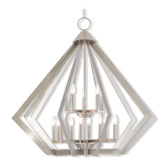 Livex Lighting Prism Brushed Nickel Pendant Light