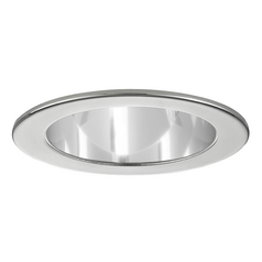 Clear Open Reflector PAR20 Trim with Chrome Ring for 4-Inch Recessed Cans